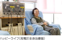 ハッピーライフ(高電圧全身治療器)